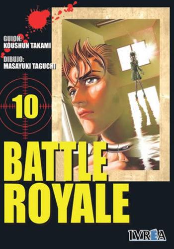 Battle Royale manga tomo 10