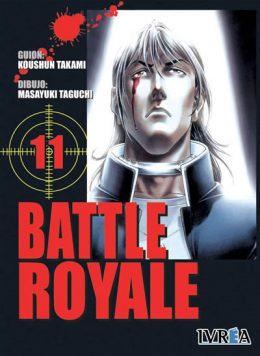 Battle Royale manga tomo 11