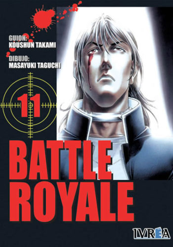Battle Royale manga tomo 11