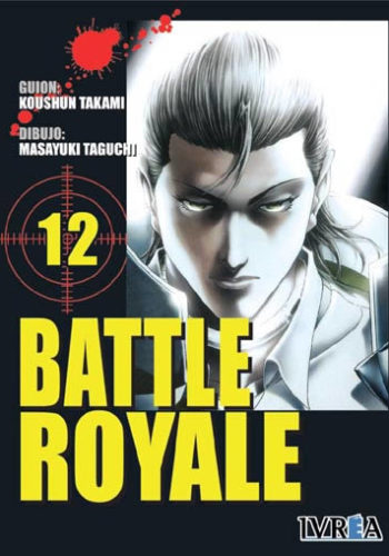 Battle Royale manga tomo 12