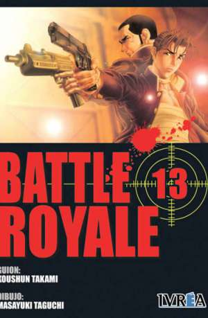 Battle Royale manga tomo 13