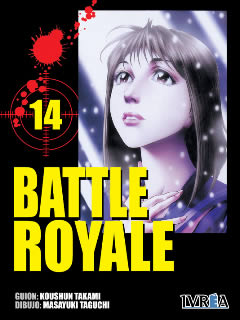 Battle Royale manga tomo 14
