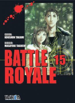 Battle Royale manga tomo 15
