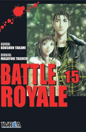 Battle Royale manga tomo 15