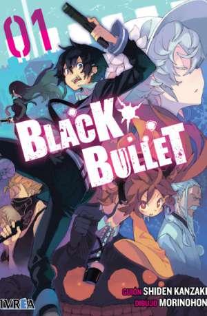 Black Bullet manga tomo 1