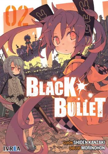 Black Bullet manga tomo 2