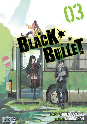 Black Bullet manga tomo 3