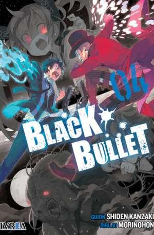Black Bullet manga tomo 4