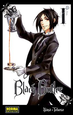 Black Butler manga tomo 1