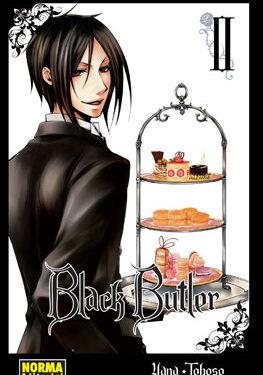 Black Butler manga tomo 2