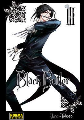 Black Butler manga tomo 3