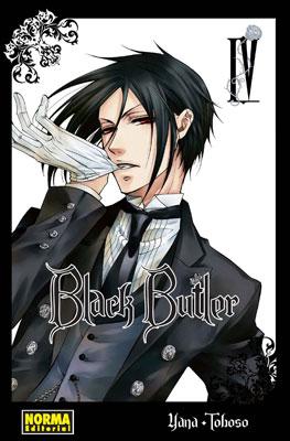 Black Butler manga tomo 4