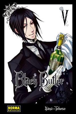Black Butler manga tomo 5