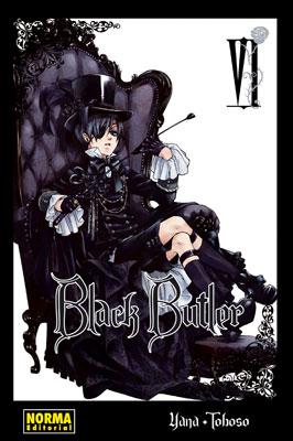 Black Butler manga tomo 6