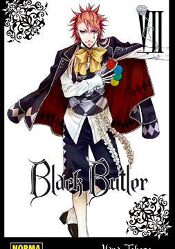 Black Butler manga tomo 7