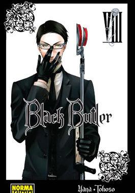 Black Butler manga tomo 8