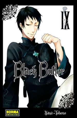Black Butler manga tomo 9