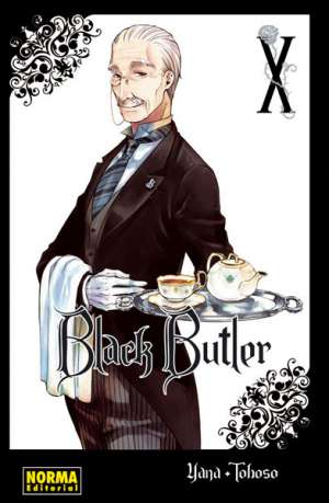 Black Butler manga tomo 10