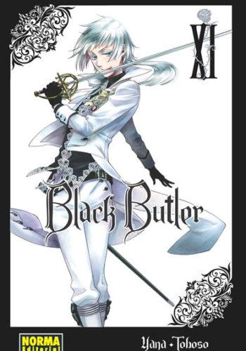 Black Butler manga tomo 11