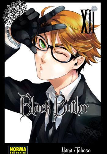 Black Butler manga tomo 12