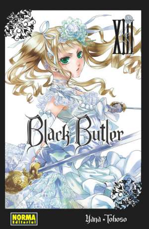 Black Butler manga tomo 13