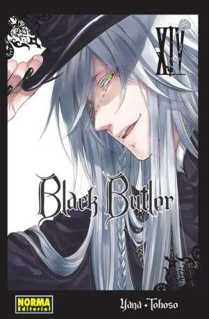 Black Butler manga tomo 14