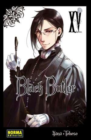 Black Butler manga tomo 15