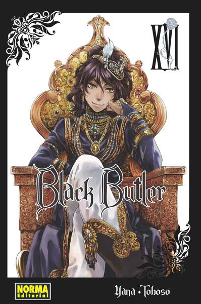 Black Butler manga tomo 16