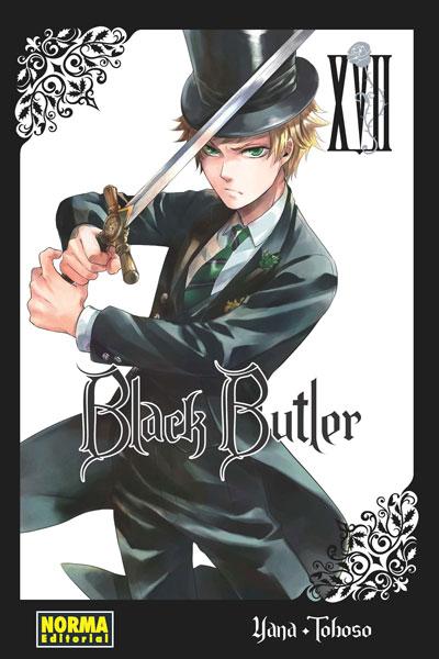 Black Butler manga tomo 17