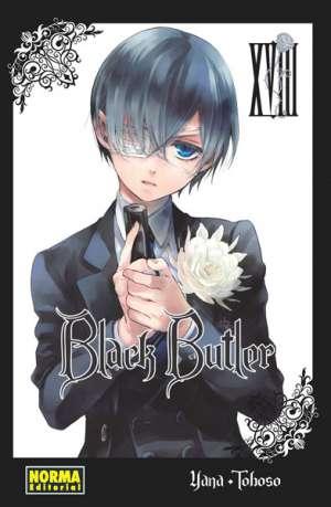 Black Butler manga tomo 18