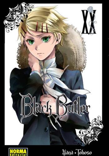 Black Butler manga tomo 20