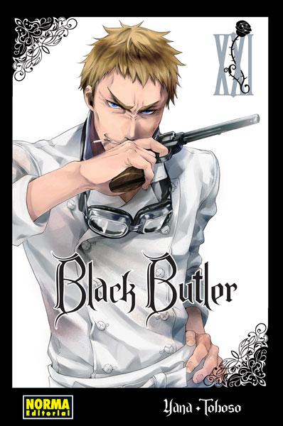 Black Butler manga tomo 21