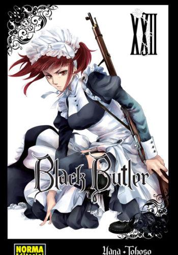 Black Butler manga tomo 22