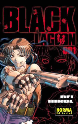 Black Lagoon manga tomo 1