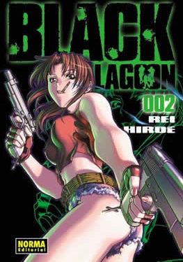 Black Lagoon manga tomo 2