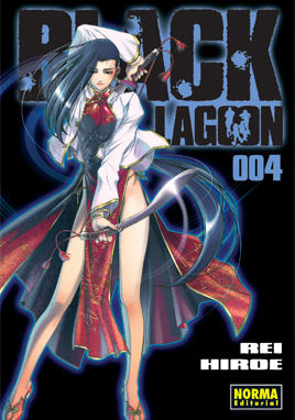 Black Lagoon manga tomo 4