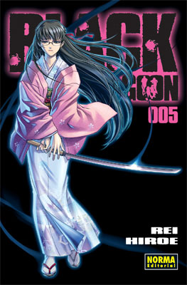 Black Lagoon manga tomo 5