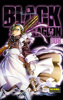 Black Lagoon manga tomo 8