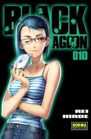 Black Lagoon manga tomo 10