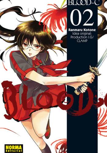 Blood C manga tomo 2