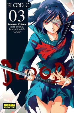 Blood C manga tomo 3