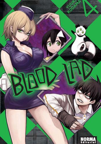 Blood Lad manga tomo 4