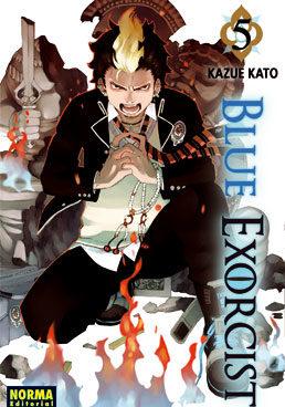 Blue Exorcist manga tomo 5