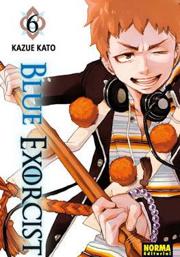 Blue Exorcist manga tomo 6