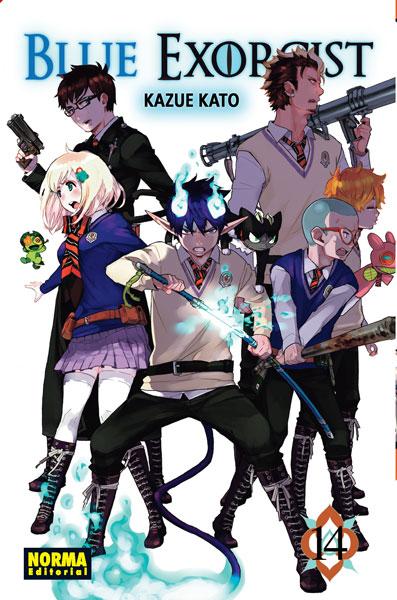 Blue Exorcist manga tomo 14