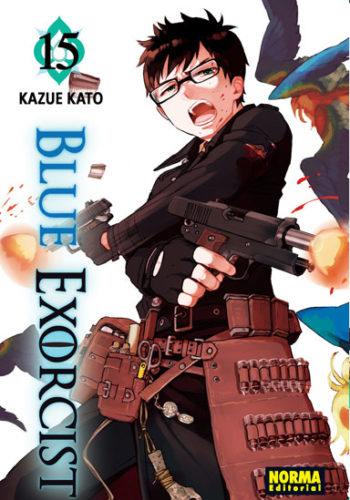 Blue Exorcist manga tomo 15
