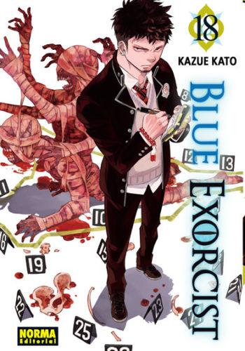 Blue Exorcist manga tomo 18