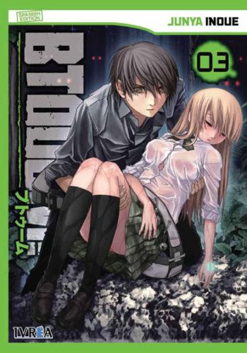 Btooom! manga tomo 3