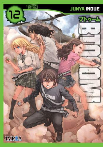 Btooom! manga tomo 12