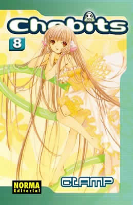 Chobits manga tomo 8